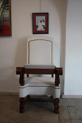 sjedalo ivana pavla drugoga galerija umjetnina svetiste trsat