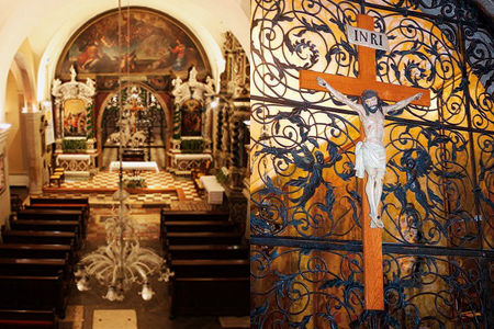 glavna ladja svetište majke božje trsatke rijeka
