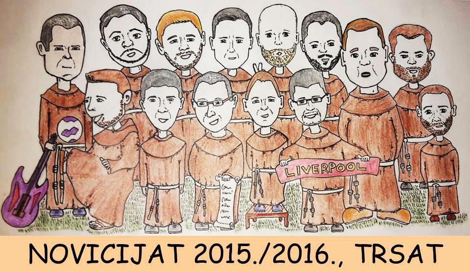 novicijat svetište trsat 2015/2016