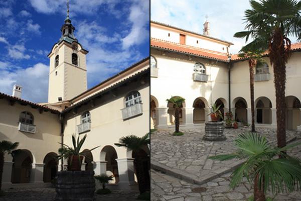 Veliki klaustar samostana na Trsatu
