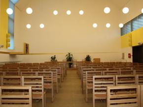 velika dvorana aula ivana pavla drugoga svetite trsat