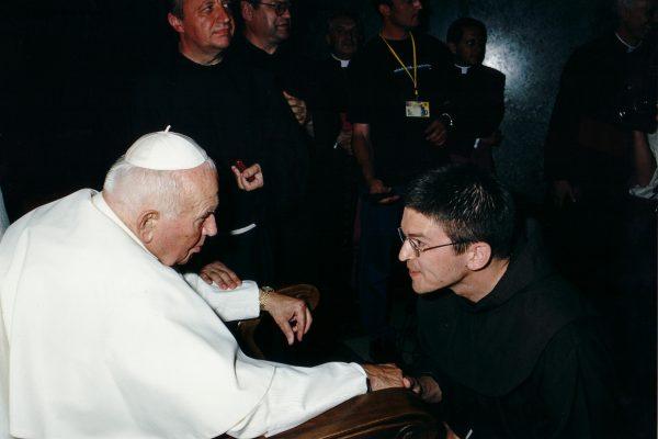 svetiste trsat sjecanje na posjet ivana pavla II trsat rijeka 2003 moli za nas oltar padre igor andrijević
