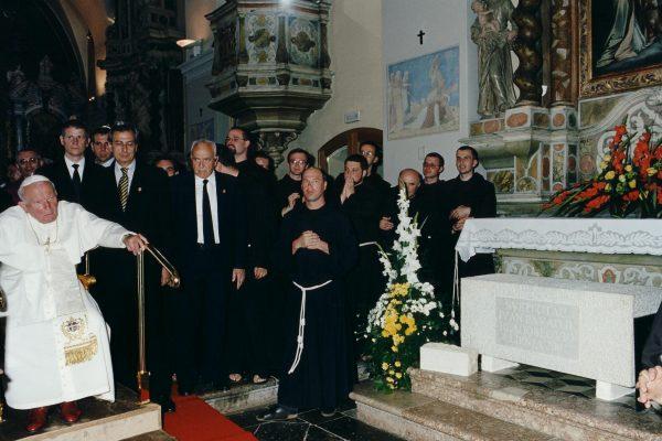 svetiste trsat sjecanje na posjet ivana pavla II trsat rijeka 2003 moli za nas oltar