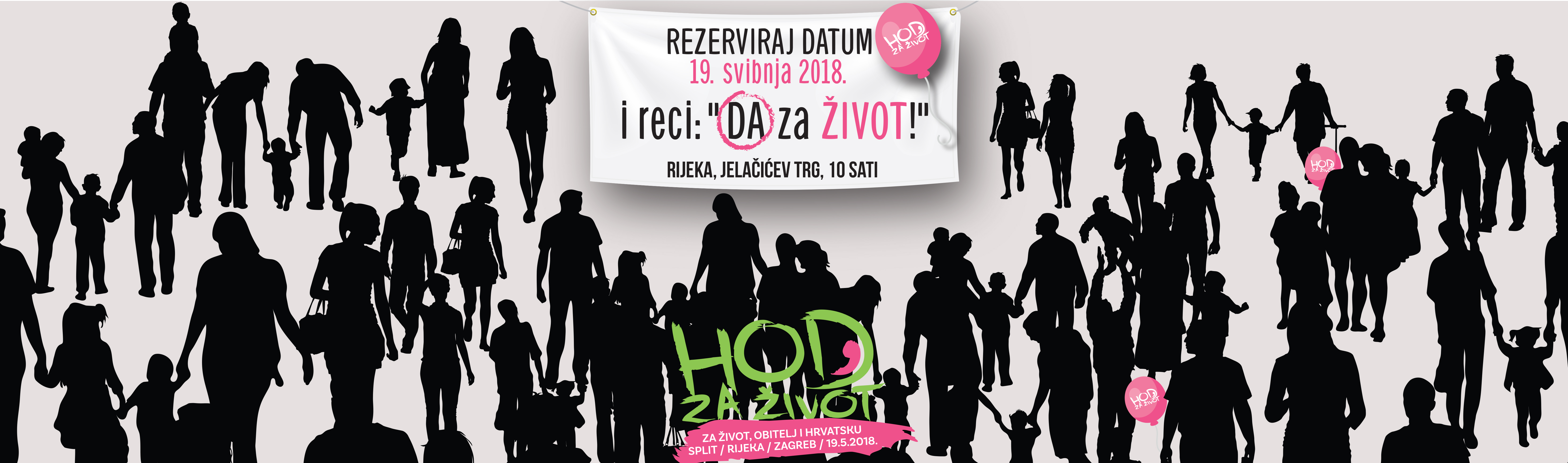 Hod za život – video poziv