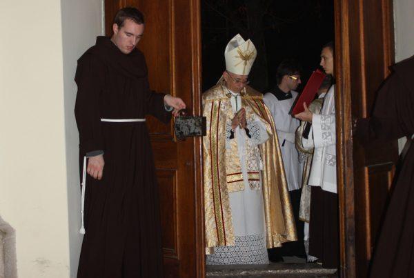otvaranje jubilarnih vrata u godini milosrdja svetiste trsat