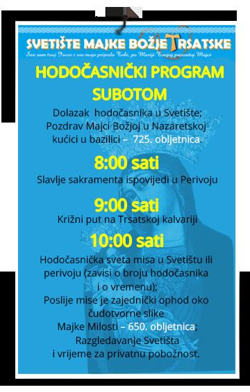 hodocasnicki program 2016 svetiste trsat