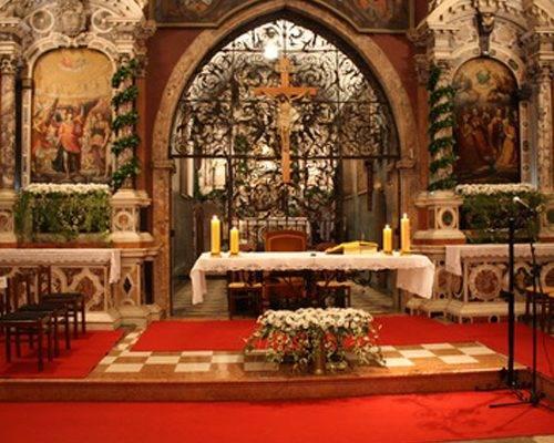 svetiste unutarnji prostor trsat svetohraniste oltarni prostora