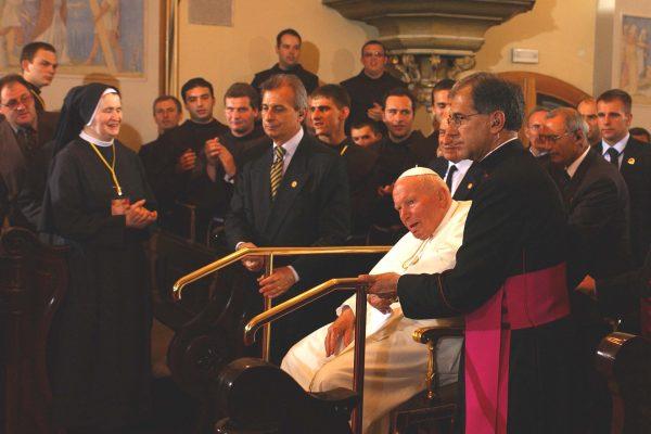 RIJEKA,08.06.2003.- POSJET SVETOG OCA PAPE TRSATU.
