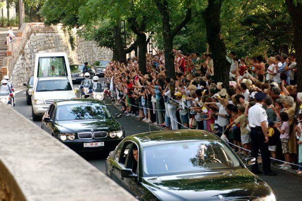 RIJEKA, 08.06.2003. TRSAT, POSJET PAPE IVANA PAVLA II TRSATSKOM SVETIŠTU