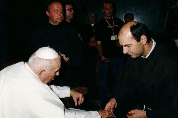 svetiste trsat sjecanje na posjet ivana pavla II trsat rijeka 2003 moli za nas fra anto zuljevic