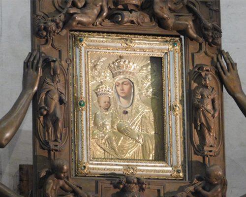 slike koju je izradio sv luka bazilica sv justine padova italija svetiste trsat rijeka hrvatska